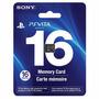 Cartao De Memoria 16 Gb Original Sony Psviata Card Memory
