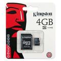 Cartão De Memória Micro Sd Kingston 4gb Lacrado Original
