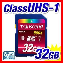 Cartão Sdhc 32gb Transcend Ultimate Classe 10 90mb/s 600x