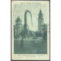 Porto Alegre 1922 Cartão Postal Praça Senador Florêncio