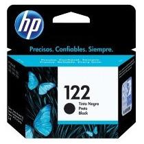 Cartucho De Tinta Hp 122 Preto 120 Páginas Ch561hb