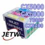 Kit 4 Cartucho Recarregável Cx5000 Cx6000 7000f Cx8400 691nr