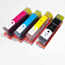 Kit 4 Cartuchos Hp 670xl Ink Advantage 3525 4615 4625 5525
