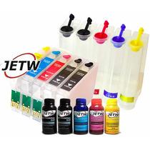 Bulk-ink T1110 Tx515nf T115126 T103320 + Tinta Sublimatica