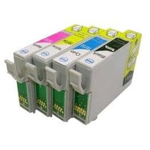 Kit 4 Cartucho Compat. To117/to901/to731/to732/to733/to734
