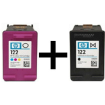 Kit Com 122preto(20ml) E 122color(15ml) Cheios + Frete Grat