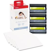 Kit Papel Tinta Impressoras Fotografia Canon Kp108 + Frete