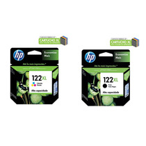 Kit Cartucho Hp 122xl Preto 8,8ml + 122xl Color 7,5ml