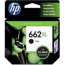 Cartucho 662xl Preto Original Hp 2516 3516 2546 1516 3515