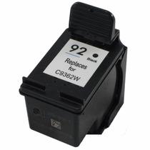 Cartucho Compatível Hp Preto 92 C9362wl - 9 Ml - Novo