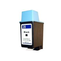 Cartucho Hp20 Hp 20 Bk C 6614 A C6614a Compativel 100% Novo