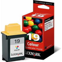 Cartucho Lexmark 19 Color 15m2619 100% Original Cs Lacrada!!
