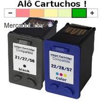 Cartucho Hp 21 E 22 Psc 1410 J3680 F350 F4180 D2460 F2280