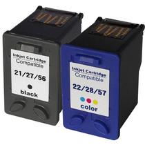 Cartucho Jato De Tinta Hp 21 E 22 Multifuncional Fax J3680