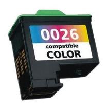 Cartucho Lexmark N26 Color. P/ Serie Z600 / X119 100% Novo
