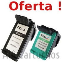 Cartucho Hp 74 Xl 75 C4280 J5780 C4480 C5280 C5580 J6480 74x