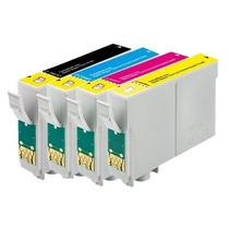 Kit 4 Cartuchos Impressora Epson T194 Xp104 Xp204 Xp214