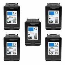 5 Cartuchos Hp 60 Impressora Deskjet F4580 F4480 C4780 C4780