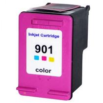 Cartucho Hp 901 Xl Color Compatível Importado Novo