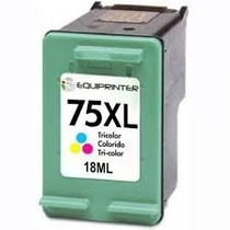 Cartucho Hp 75xl Tri-color ( Cb338w ) Com 18ml De Tinta