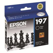Cartucho Preto Epson Xp401 Xp201 Xp101 Wf2512 2532 T197120