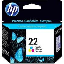 Cartucho Hp 22 Tricolor C9352ab Original Color Nf E Garantia