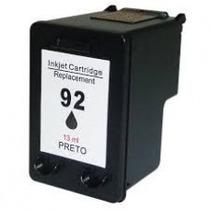 Cartucho Compatível 92 Black Hp P 5440 7850 1510 6210 C3180.