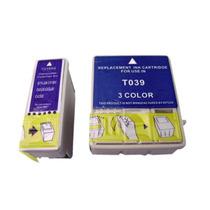 Kit Cartucho Epson To38 To39 Compatível C43ux C43sx C45 Cx15