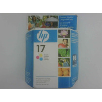 Cartucho Hp 17 Color C6625a Original Vencido