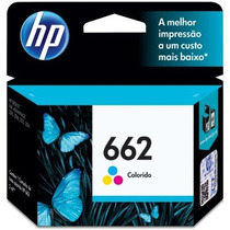 Cartucho Hp 662 Color Hp2516 Hp3546 Hp3516 Hp1516 Hp2546