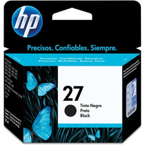 Cartucho Hp 27 Preto 11ml - Lacrado - Original