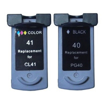 Kit Canon Pg 40 + 41 Mp210 220 450 460 470 Mx300 Mx310