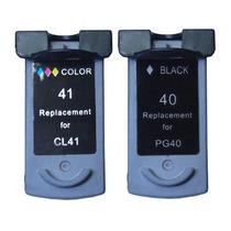 Kit Canon Pg 40 + 41 Ip 1200 1300 1600 1700 1800 1900 2200