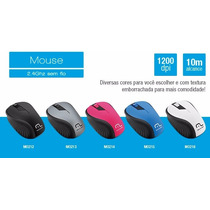 Mouse Simples Multilaser 5 Cores Diferentes | Novo Lacrado