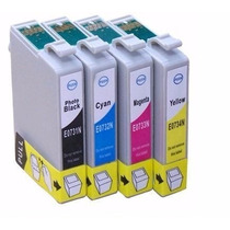 Kit Cartucho Compativel Epson 73n / To731/732/733/734 C/04