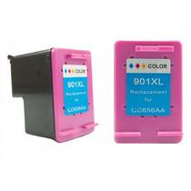 Cartucho Hp 901xl Colorido Compativel J4580 4680 J4660 Etc
