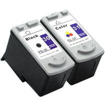 Kit 2 Cartuchos Canon Pg 30 Preto + Pg 31 Color Ip1800 2500