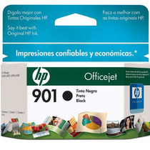 Cartucho Hp 901 Officejet Jato Preto Cc653ab Mania Virtual