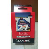 Cartucho Original Lexmark (27) - Colorido