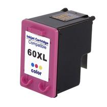 Cartucho De Tinta Hp 60xl Colorido (color) Compatível L F428