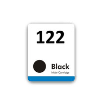 Etiqueta Cartucho Jato De Tinta Hp 122 Black (pct. 45 Und)