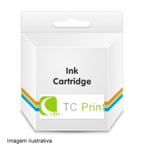 Kit Cartucho Compatível Jato Tinta Hp 901xl Color E Black