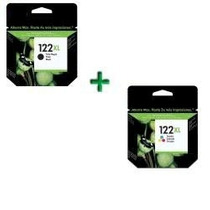 Kit 122xl Preto(20ml) + 122xl Color(18ml) Cheios Frete Grati