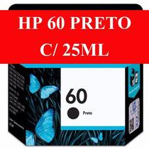 Cartucho De Tinta Hp 60 Xl Preto - 25 Ml De Tinta - Oferta!