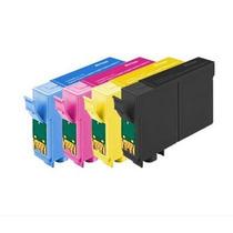 Kit Com 4 Cartuchos Compatíveis 133 Para Epson Tx235w Tx320
