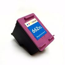 Cartucho Tinta Hp 662xl Colorido 2546 3546 Compatível