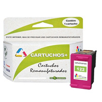 Kit Cartucho Hp 122 Xl Preto + Xl Color Original + Frete