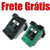 Cartucho Hp 92 93 Preto E Color Psc 1510 C 3100 C 3180 4180