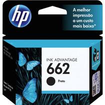 Cartucho Hp 662 Cz103ab Preto Original Impressora 2516-3516