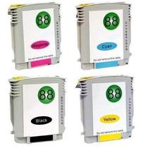 Kit 4 Cartuchos Compativeis Hp 88 - K5400 K8600 L7680 L7590